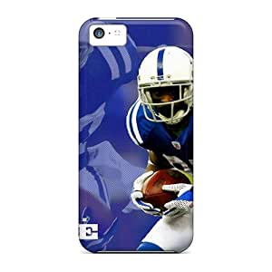 Shock-Absorbing Cell-phone Hard Cover For Iphone 5c With Support Your Personal Customized Colorful Indianapolis Colts Pictures JonathanMaedel
