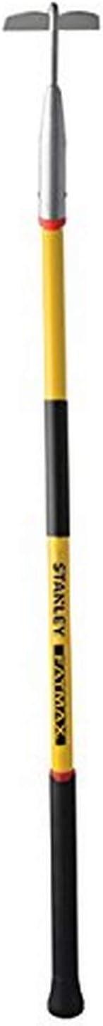 Stanley Garden BDS7227T FATMAX Fiberglass Handle Garden Hoe, Yellow/Black : Garden & Outdoor