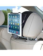TFY Universal Car Headrest Mount Holder with Angle- Adjustable Holding Clamp for Tablet - iPad Mini/iPad Pro/iPad Air/Samsung Galaxy Tab S / S2 / S3 / Tab 4