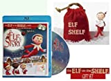 An Elf's Story DVD with Elf on the Shelf Figurine in Velvet Pouch Gift Set * BEST SELLER *