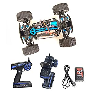 ALEKO RCC94111PROORANGE Electric Powered Off Road Monster Truck (1:10 Scale)