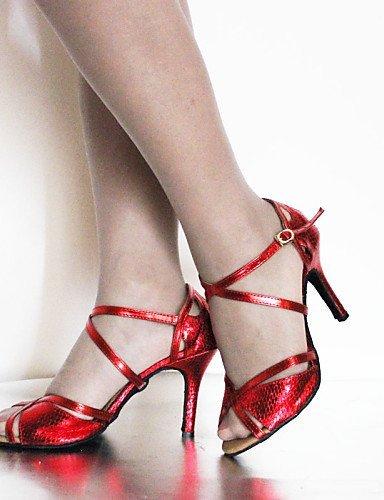 ShangYi Anpassbar - Stiletto - Velourleder/Kunstleder - Latin/Tanzschuhe - Damen Gold