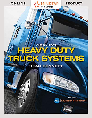 (MindTap for Bennett's Heavy Duty Truck Systems, 7th Edition [Online Code])