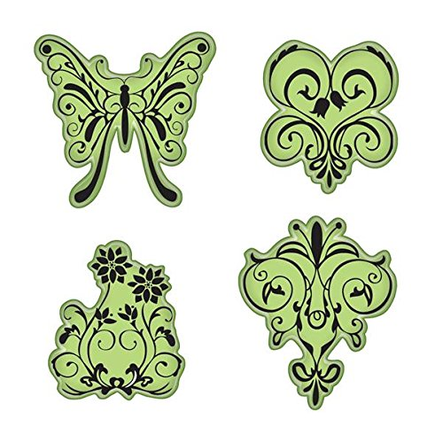Inkadinkado Stamping Gear Cling Stamps, Butterfly ()