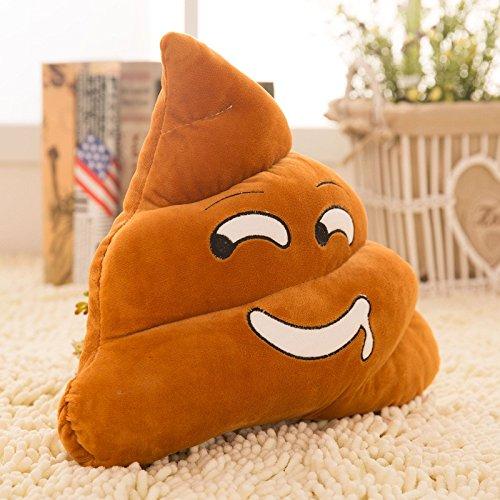 Money coming shop 25cm Funny Mini Cute emoji Pillow Emoticon Cushion Shape Pillow Doll Toy Throw Pillow Amusing Poo Shape (Cute Halloween Cakes Birthday)