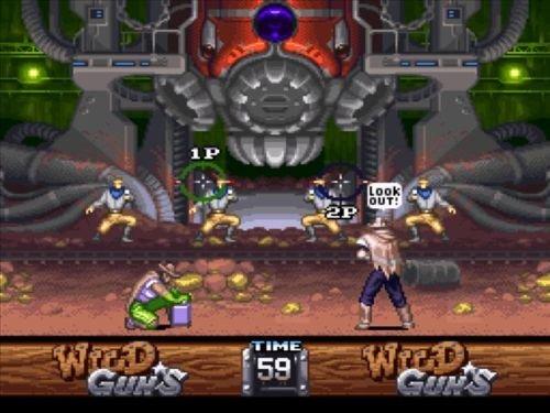 Amazon.com: Wild Guns - Nintendo Super NES: Video Games