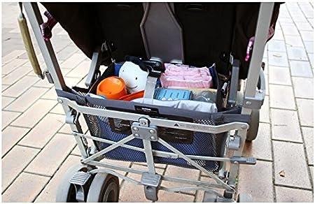 Rose Sac organiseur poussette d/étachable,sac /à langer NOVAGO Grand Organiseur de sac sp/écial Maman pour b/éb/é