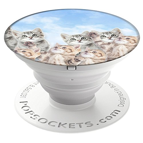 PopSockets: Collapsible Grip & Stand for Phones and Tablets - Sky Kitties