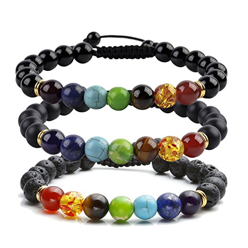 Handmade Adjustable Gemstone Birthstones Bracelets