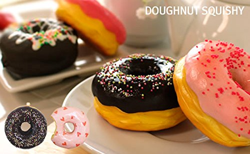 Sammy The Patissier Squishy Ball Chain (Doughnut / Pop Shower) Photo #3