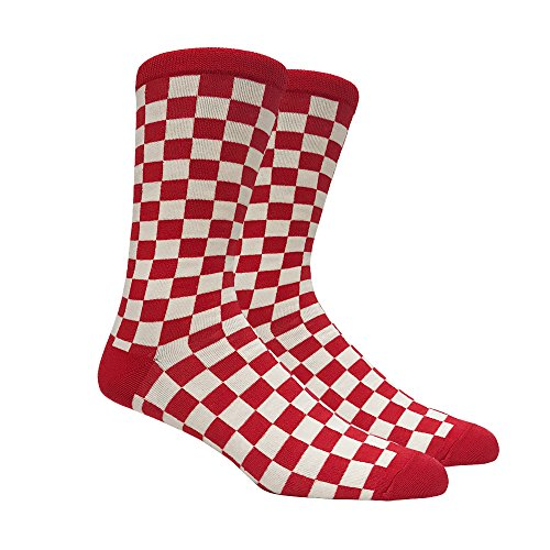 Mens Red and White Checkered ()