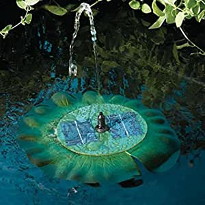 Smart Solar Aquatic Range Floating Lily Solar Fountain 24402R01