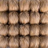 SIQUK 20 Pieces Faux Fur Pom Pom Balls DIY Faux Fox Fur Fluffy Pom Pom with Elastic Loop for Hats Scarves Gloves Bags Accessories: more info