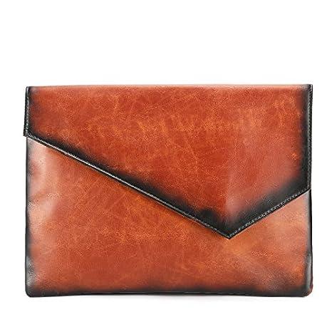 BOAOGOS Bolsos para hombres bolsos de mano sobre el embrague embrague bolsa bolso pequeño paquete,caqui: Amazon.es: Equipaje