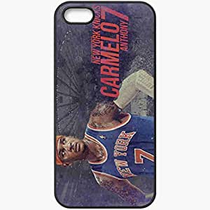 Personalized iPhone 5 5S Cell phone Case/Cover Skin 14730 knicks wp 41 sm Black
