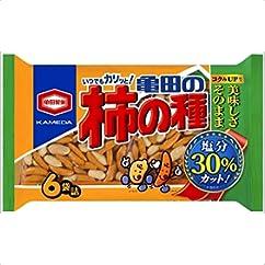 亀田製菓 減塩・糖質OFFシリーズ