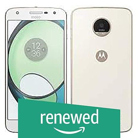 (Renewed) Motorola Z Play XT1635-02 (White, 32GB) Smartphones at amazon