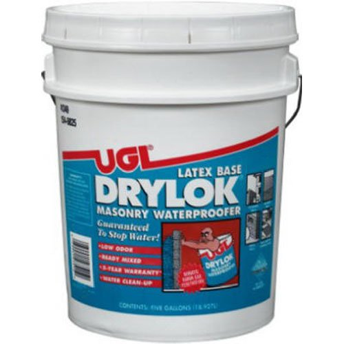 Drylok 275 Masonry Waterproofer Water-Based White, 5-Gallon Pail by Drylok