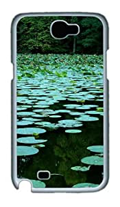 Lake State Park Illinois Polycarbonate Hard Case Cover For Samsung Galaxy Note 2/ Note II / N7100 - White