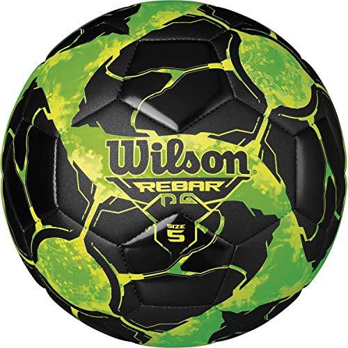 (Wilson Rebar NG Soccer Ball, Optic Green, Size 5)