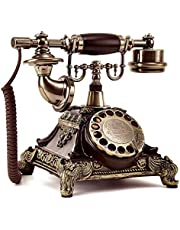 Elise Retro Telefon Festnetztelefon zu Hause Unmodern Kreative Telefon Wählscheibe XXPP