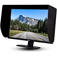 iLooker-30P 30 inch Pro Edition LCD LED Video Monitor Hood Sunshade Sunhood for Dell HP Viewsonic Philips Samsung LG EIZO NEC ASUS ACER BENQ AOC LENOVO, Fits Monitor Frame Width 695-715mm