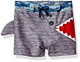 mud pie boy 3t - Mud Pie Baby Boys' Shark Swim Trunks,Blue,Medium/2T-3T