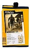 SealLine Kodiak 15 Stowable Nylon Dry Bag, Yellow