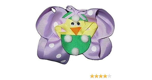 Chick Hair Clip Girls Toddler Barrettes Hair Accessories Hair Clippies Felt Hair Clips Easter HairClip Easter Chick Hair Clip