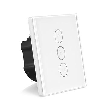 TOP Zwischenstecker weiß mit Dimmer Stecker Lichtdimmer Zwischenschalter Lampe