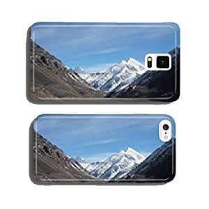 Mountains at Khunjerab pass at china-pakistan border in Northern cell phone cover case Samsung S6