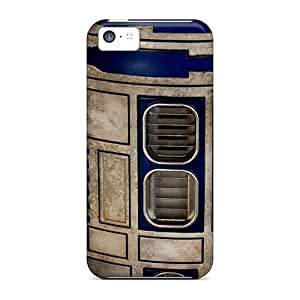 CaroleSignorile Fashion Protective Robot Close Up Cases Covers For Iphone 5c
