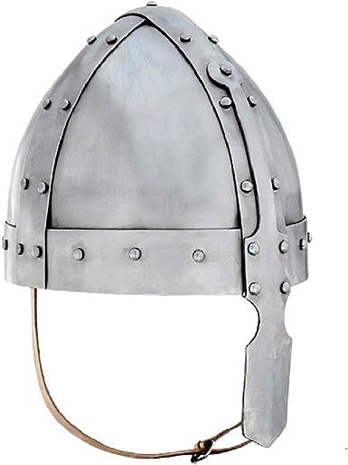 Viking or Knight Helmet for Kids Costume Accessory Norman Nasal Helmet