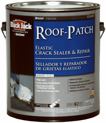 Black Jack Roof-Patch Elastic Crack Sealer And Repair Water Based White 1 Gl (Black Jack Roof Sealer compare prices)