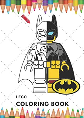 Lego Coloring book: For kids ages 4-8, 32 Coloring Page Big ...