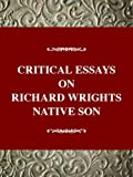img - for Critical Essays on Richard Wright's Native Son (Critical Essays on American Literature Series) book / textbook / text book