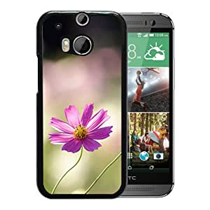 Unique DIY Designed Cover Case For HTC ONE M8 With Cosmos Flower Flower Mobile Wallpaper 1 Phone Case
