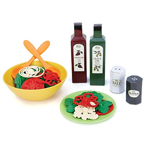 Green Toys Salad Set, (Green Giant And Sprout Costumes)