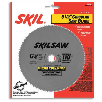 SKIL 74501 110-Tooth Hardened Steel Blade, 5 1/2