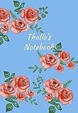 Thalia's Notebook: Personalized Journal - Garden
