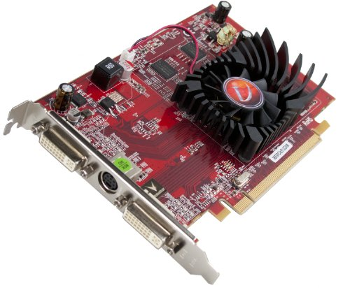 Pci Vga Dvi S-video (Radeon HD3650 512MB Pcie)