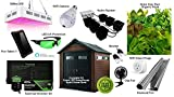 Complete Smart GreenHouse LED Hydro Home Grow Kit 7.5ftx7.3ft
