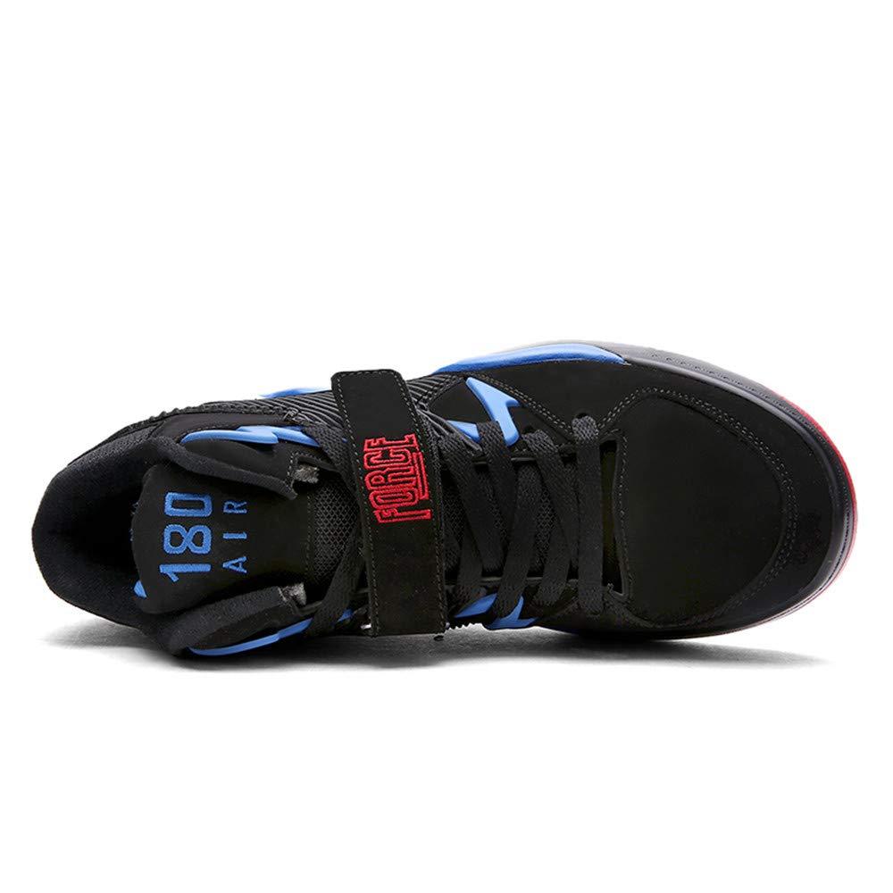 Chaussures de Course /à Coussin dair,Blue,39 Formateurs de Basket-Ball Bottes de Basket-Ball /à Absorption de Chocs l/ég/ères Willsky Chaussures de Basket-Ball pour Hommes