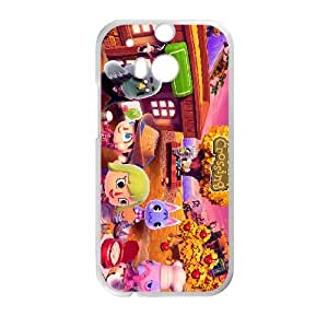 HTC One M8 Cell Phone Case White Animal Crossing New Leaf LV7027745