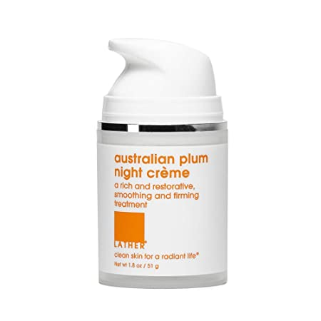 LATHER Australian Plum Night Cr me, 1.8 Ounce
