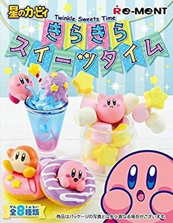 - Kirby Twinkle Sweets Time Re-Ment miniature blind box (Single Random Box)