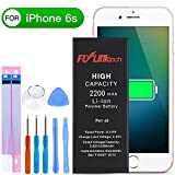 Flylinktech for iPhone 6S Battery Replacement, 2200mAh High Capacity Li-ion Battery with Repair Tool Kit -Included 24 Months Warranty
