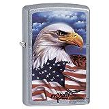 Windproof Lighter -Eagle Mazzi -Strt Chrm Zippo Outdoors 24764