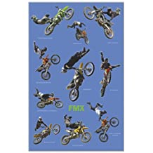 Freestyle Motocross (Riders in Air, FMX) Sports Poster Print - 24x36