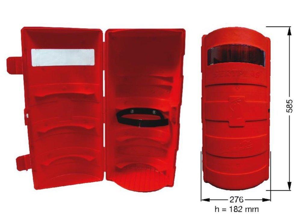 Fahrzeugbedarf Wilms Feuerlö scherbox, Feuerlö scherkasten, Staukasten fü r Feuerlö scher 6 kg fü r LKW,